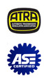 ATRA and ASE Certification Logos