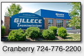 Gillece Transmissions Cranberry PA, Transmission Repair Shop